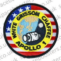 NASA Apollo 1 Embroidered Mission Crew Patch
